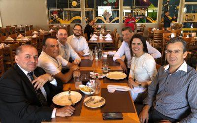 Diretorias Uniforte Seguros e Allianz celebram mais de 20 anos de parceria